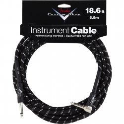 FENDER CUSTOM SHOP 18.6' INSTRUMENT CABLE TWEED