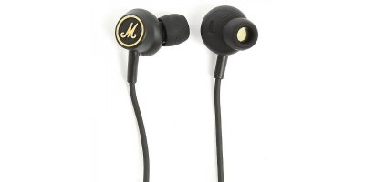 MARSHALL MODE EQ HEADPHONES BLACK & GOLD