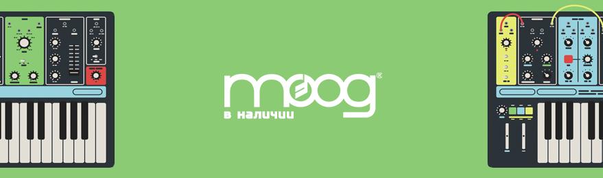 Синтезаторы MOOG в наличии в Казани, бесплатная доставка по России, лучшая цена
