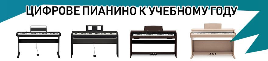 Цифровые пианино в школу!