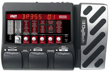 DIGITECH BP355 GUITAR MULTI-EFFECT PROCESSOR