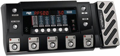 DIGITECH RP500 GUITAR MULTI-EFFECT PROCESSOR
