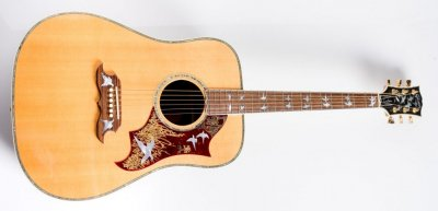 GIBSON CUSTOM SHOP Doves In Flight Antique Natural