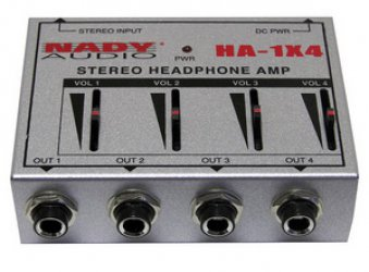 Nady HA-1X4 Headphone Amp